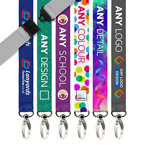 """100x Personalized Lanyard by Lanyards Tomorrow 