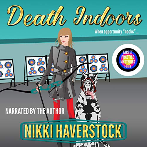 Death Indoors audiobook cover art