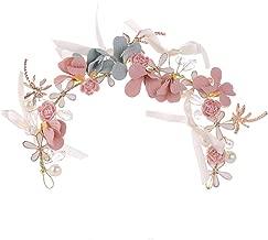Limeo Guirnalda Coreana Moda flor Diadema Corea Damas Garland Accesorios Para el Cabello Adecuado Para el Banquete de Boda floral del Estilo del Estudio Accesorios