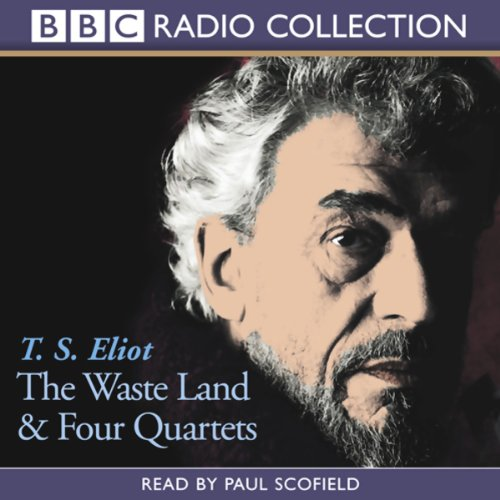 The Waste Land & Four Quartets audiobook cover art