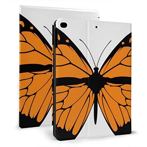 Plsdx Estuche iPad a Prueba de niños Monarch Butterfly Grande Hermoso Estuche Mini iPad para iPad Mini 4 / Mini 5/2018 6th / 2017 5th / Air/Air 2 con Auto Wake/Sleep Cubierta iPad magnética Niños