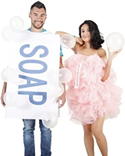 soap and a loofah costume