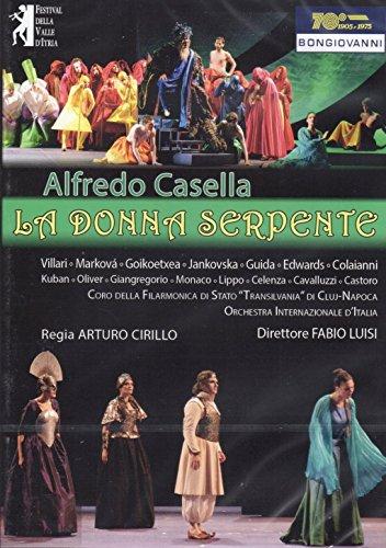 Alfredo Casella: LA DONNA SERPENTE - (All regions NTSC DVD) [Reino Unido]