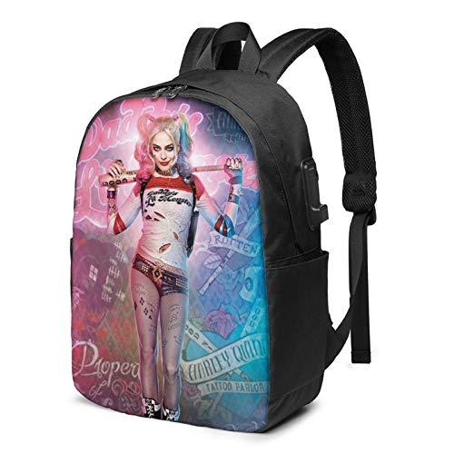 Harley-Quinn-Stand Backpack Bag Sport Gym Sackpack