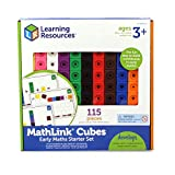Learning Resources Mathlink Cubes Conjunto de Actividades , color, modelo surtido