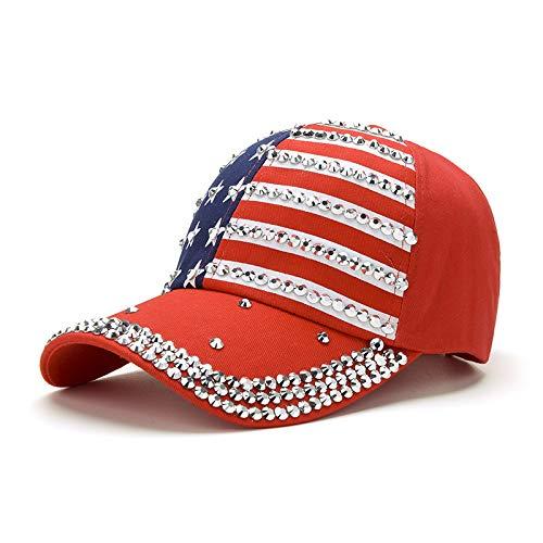 Marcar Exquisita Gorra de béisbol de Vaquero de perforación en Caliente Gorra para el Sol al Aire Libre