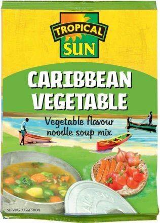 Tropical Sun Caribbean Vegetable Soup Pack 6 of Columbus Mall OFFer 50g -