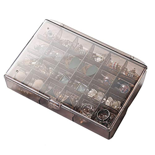 Rysmliuhan Shop Jeweller Box Jewel Boxes Jewellery Boxes For Girls Trinket Boxes For Women Large Jewellery Box Jewellery Boxes For Women Girls Jewellery Box Coffee,One Size