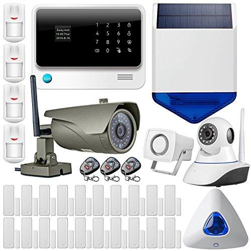 classement un comparer FUERS – Système d'alarme domestique G90B 2.4G WiFi GSMGPRS sans fil