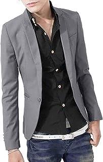 (オール デー シャイニング) ジャケット テーラード シンプル ビジネス オフィス カジュアル 襟付き メンズ