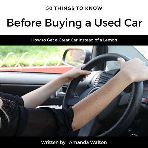 50 Things to Know Before Buying a Used Car audiobook cover art