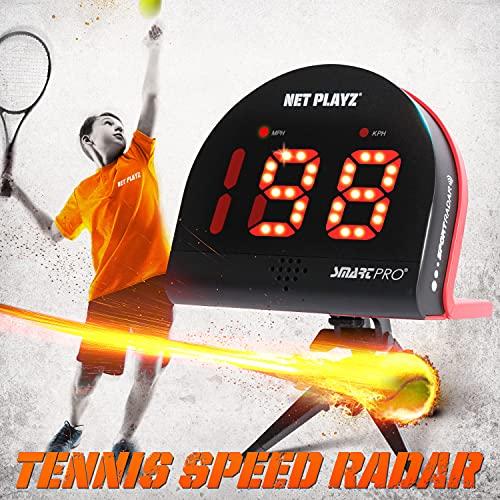 TGU Tennis Gifts - Tennis Radar Guns Speed Sensors (Hands-Free), Black (NIS022132025)