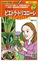 スイスチャード【ビエトラ・トリコローレ】のタネ (小(20粒×3色))