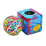 ACCO 72155 Rubber Band Ball, Approximately 270 Rubber Bands, Assorted