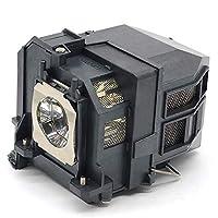 EachLight ELPLP80 プロジェクターランプ EB-580 EB-585W EB-590WT EB-595WT EB-1420WT EB-1430WT EB-1420WC6 EB-1420WC7 交換用 【高耐久性·使いやすい】