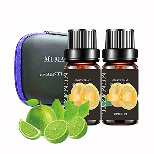 Lime Essential Oil Set Organic Plant Natural 100% Pure Therapeutic...