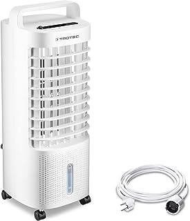 TROTEC Aircooler PAE 11 luftkylare 3-i-1 mobil luftkonditionering fläkt luftfuktare 3 l tank avdunstningkylning inkl. PVC ...