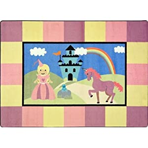 Lil' Princess Kids Rugs Area Rug 5'4″ X 7'8″
