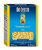 De Cecco Semolina Pasta, Tubetti No.62, 1 Pound (Pack of 5)