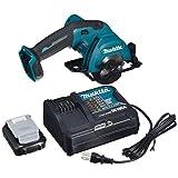 マキタ 充電式マルノコ10.8V青 刃径85mm/切込25.5mm 1.5Ahバッテリ・充電器・HS301DSH