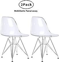 Amazon.es: sillas transparentes