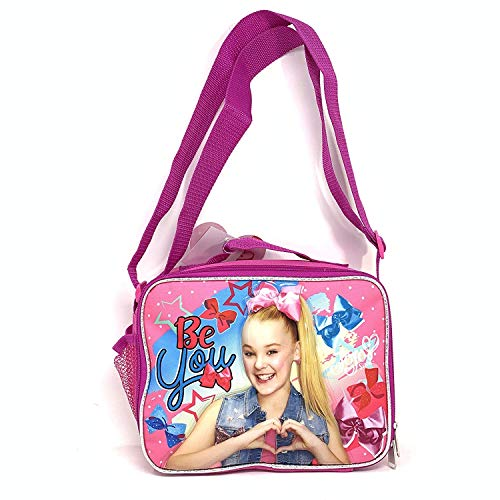 Nickelodeon JoJo Siwa Insulated Lunch Bag Snack Bag with Adjustable Shoulder Straps-14833