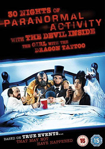 30 Nights of Paranormal Activity with the Devil Inside the Girl with the Dragon Tattoo [DVD] (IMPORT) (Keine deutsche Version)