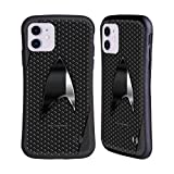 Head Case Designs Officially Licensed Star Trek Discovery Negro Badges Hybrid Case Compatible with Apple iPhone 11