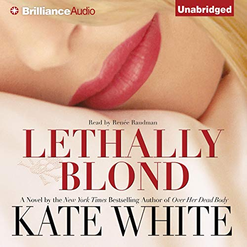 Lethally Blond audiobook cover art