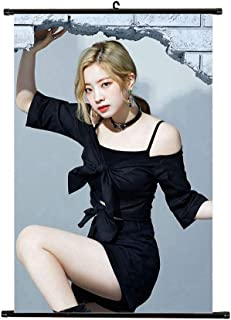 Youyouchard Kpop Twice YES or YES Wall Scroll Poster Twice Official Postcard Twice Poster, Decorate Your Room