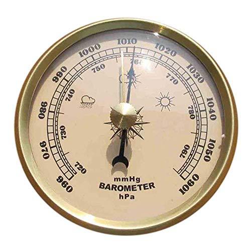 FLJKCT Barometro misurazione del Tempo Temperatura igrometro Wall Hanging Home Barometer