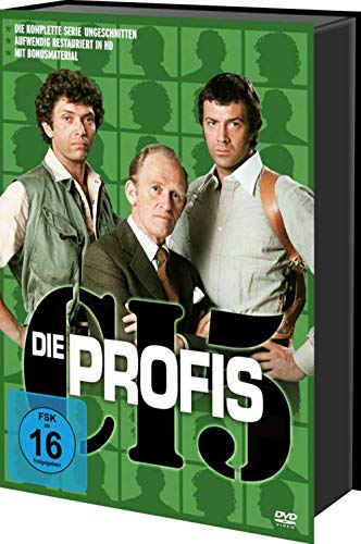 Die Profis – Die komplette TV-Serie 21 - DVD Box
