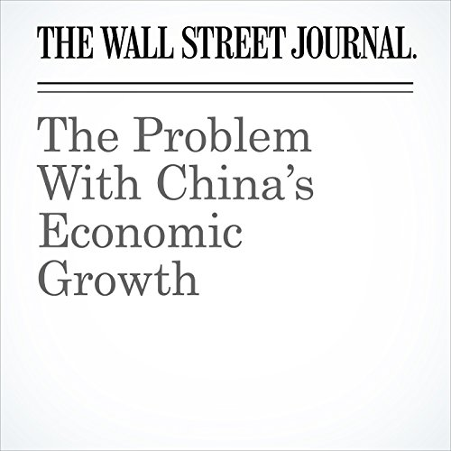 The Problem With China's Economic Growth copertina