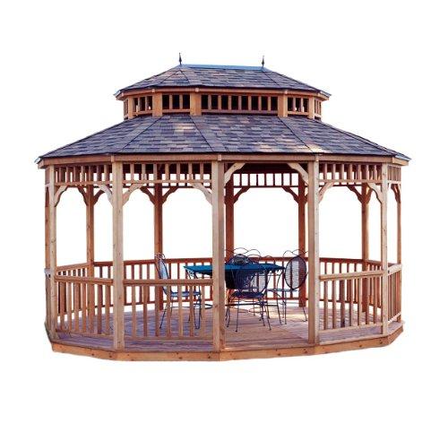 Monterey Oval Gazebo
