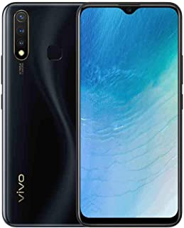 Vivo 1915 Y19 Dual SIM Smartphone, 4GB RAM 128GB 4G LTE - Black (Pack of)