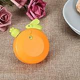 omabeta timer da cucina meccanico a forma di coniglio timer timer da cucina in abs per cucina (arancione)