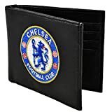 Chelsea FC Leather Wallet,black,One Size