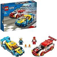 LEGO City Turbo Wheels - Coches de Carreras, Set de Construcción para Jugar a Competir, con los Dos Conductores, Juguete...