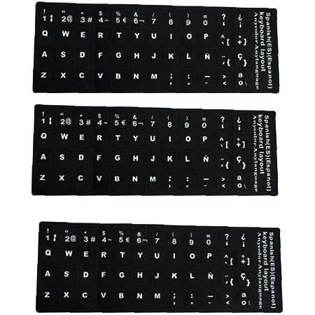 Pegatinas de Teclado en español/alemán para PC, computadora ...