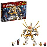 LEGO Ninjago - Robot Dorado, Juguete de Construcción con Figura de Acción, Incluye a Lloyd, Wu y el general Kozu, a...