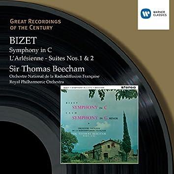 Bizet: Symphony in C - L'Arlésienne Suites Nos. 1 & 2