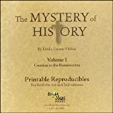 Mystery of History Volume I PRINTABLE REPRODUCIBLE CD