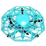 Dynamicoz Flying Ball Toys Mini Doll Toy con Cable de Carga USB - Inducción automática por...