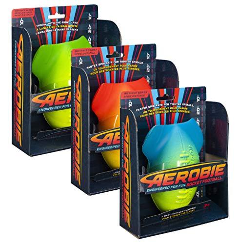 Aerobie Rocket fotboll, mjuk fotboll, färgsorterad