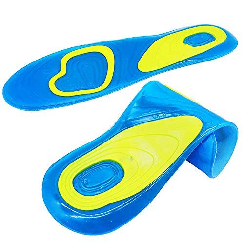 POOPFIY Plantilla de Silicona Cuidado ortopédico del pie para pies Zapatos Ortesis de pie Plantilla de Silicona Cuidado del pie Gel Cuidado del pie,S EU 38 42