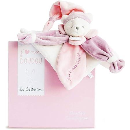 Doudou et Compagnie - Doudou Plat Ours Collector - Rose - DC2920