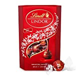 Lindt Lindor Milk Chocolate Truffles Box - Approximately 26 Balls, 337 g - Ideal for Gifting or Sharing - Chocolate Balls with a Smooth Melting Filling, Pack of 2