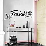 Pegatinas de pared de cara bonita para habitación de niños decoración del hogar arte mural decoración pegatinas de pared A9 XL 73 cm X 23 cm