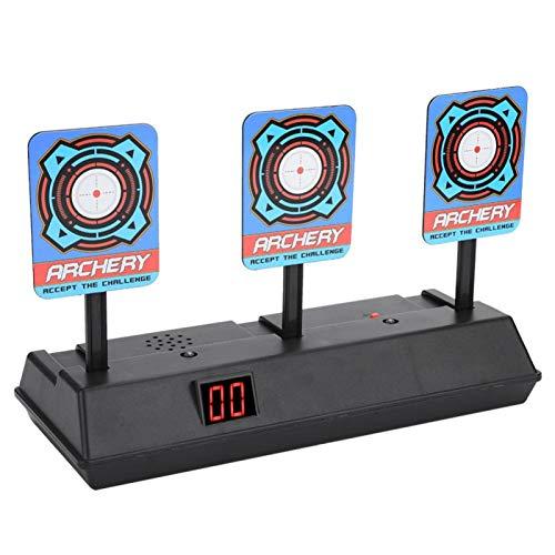 Demeras Puntaje eléctrico Target Toy Gun Shooting Target Restauración automática Accesorio para Soft Bullet Gun Toy