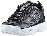 FILA Damen Disruptor M Wmn Sneaker, Schwarz (Black 1010441-25y), 38 EU